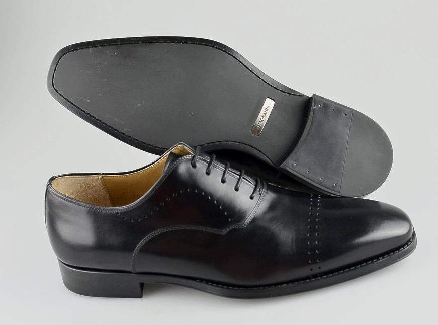 da non perdere! R - Uomo MAGNANNI  nero Leather Leather Leather  Oxfords Dimensione US 9.5 - D  promozioni di squadra