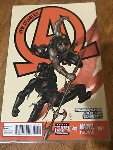 NEW AVENGERS COMIC BOOK 007 Marvel Now! Hickman Deodato Martin 2013