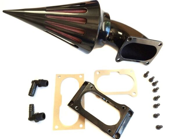 Spike Air Cleaner filter for All Kawasaki Vulcan 2000 VN2000 Classic LT BLACK