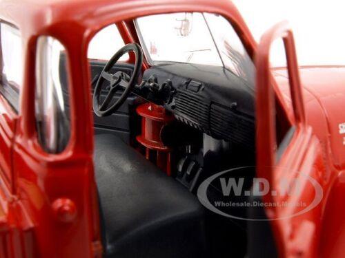 1950 Chevrolet 3100 Pickup Truck Omaha Orange 1:25 Voiture Modèle De Maisto 31952