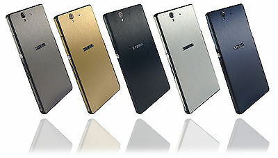 Brushed Metal Skin For SONY XPERIA Z Wrap Cover Sticker Decal Protector Case