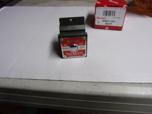 Starrett #657P  Magnetic Base Indiator Holder   New in box