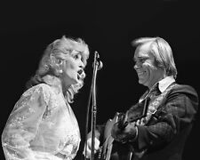 Country Singers GEORGE JONES & TAMMY WYNETTE Glossy 8x10 Photo Print Poster