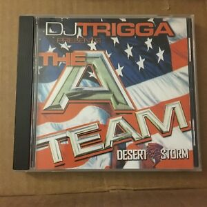 DJ-TRIGGA-The-A-Team-Desert-Storm-Ransom-amp-Hitchcock-New-Jersey-Mixtape-MIX-CD