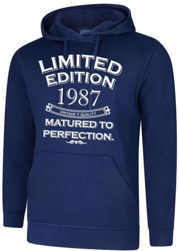 33rd Birthday Present Gift Limited Edition 1987 Matured Mens Womens Hoodie Hoody
