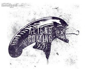 Alien Aliens Ripley Xenomorph Prometheus Covenant Chestburster Men T