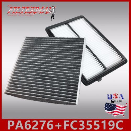 FA6276 FC35519C CARBON OEM QUALITY ENGINE /& CABIN AIR FILTER 2013-17 RDX 3.5L
