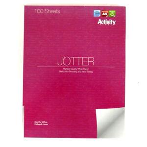 A5-Premier-Jotter-Bloc-de-notas-100-hojas-papel-normal-229mm-X-179mm