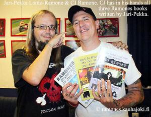 Ramones book: Ramones - Heaven Needed A Lead Singer: Fans Remember Joey Ramone !