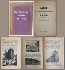 Günther -Festschrift 50jähriges Kirchweihjubiläum Erlöserkirche Dresden 1930 -xz