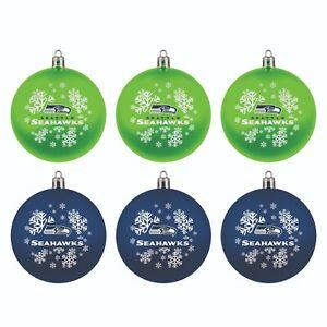 Fan Apparel Patriots Shatterproof Ornament 6 Pack Set