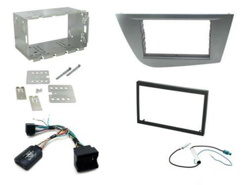 Connects2 CTKST06 Seat Leon 2005 - 2012 Complete Double Din Stereo Fitting Kit
