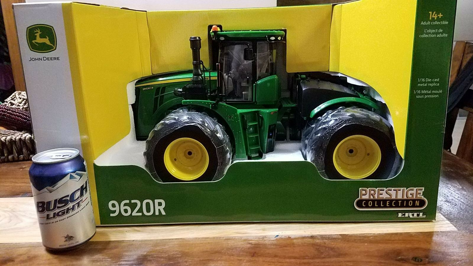 1 16 ERTL JOHN DEERE 9620 R PRESTIGE COLLECTION 4WD new in box tractor farm toy
