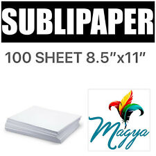 Transfer Paper For Dye Sublimation Inks 100 Sheets 85x11
