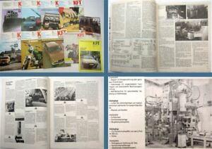 Auto & Motorrad: Teile Haben Sie Einen Fragenden Verstand 10 X Kft Kraftfahrzeug Technik Mz Simson Multicar Barkas Shiguli Wartburg 1974 Automobilia