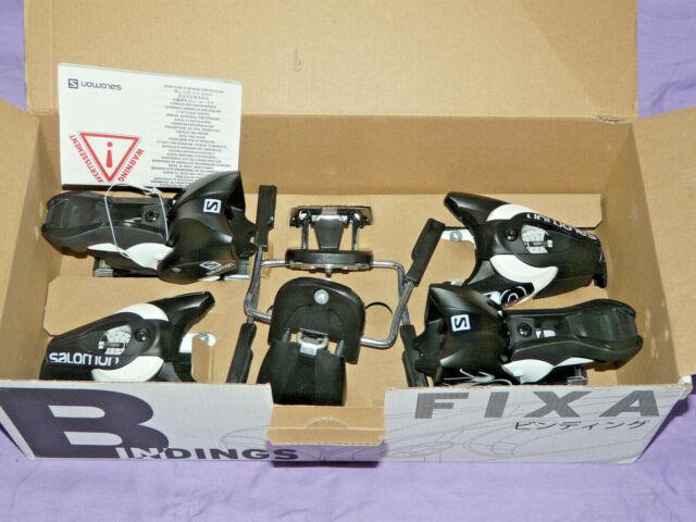 Salomon E S Force 7 Ski + Z 10 GW L80 Binding Alpine Skiing Ski Set all | eBay