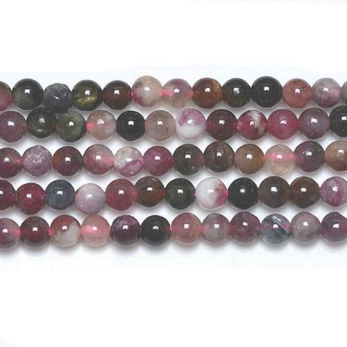 Pcs Drawbench Art Hobby Jewellery Glass Round Beads 8mm Mixed 5 Strands x 100