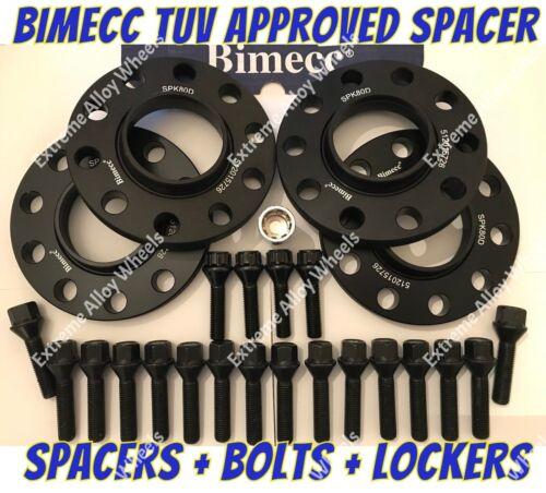 Espaciadores Rueda Aleación 15mm//20mm BMW X5 X6 F15 F16 M4X1.25 casilleros BIMECC 74.1