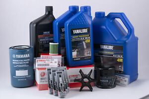 Details about Yamaha F250 3 3L V6 100 Hour Service Maintenance Kit with  Cooling - Yamalube