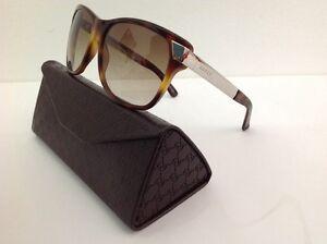 Gucci-occhiale-da-sole-mod-3611-plastica-marrone-asta-metallo-dorata-240-00