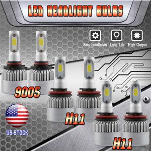 Combo-H11-9005-LED-Headlight-H11-Fog-Light-for-Toyota-Camry-2007-14-Sienna-11-17