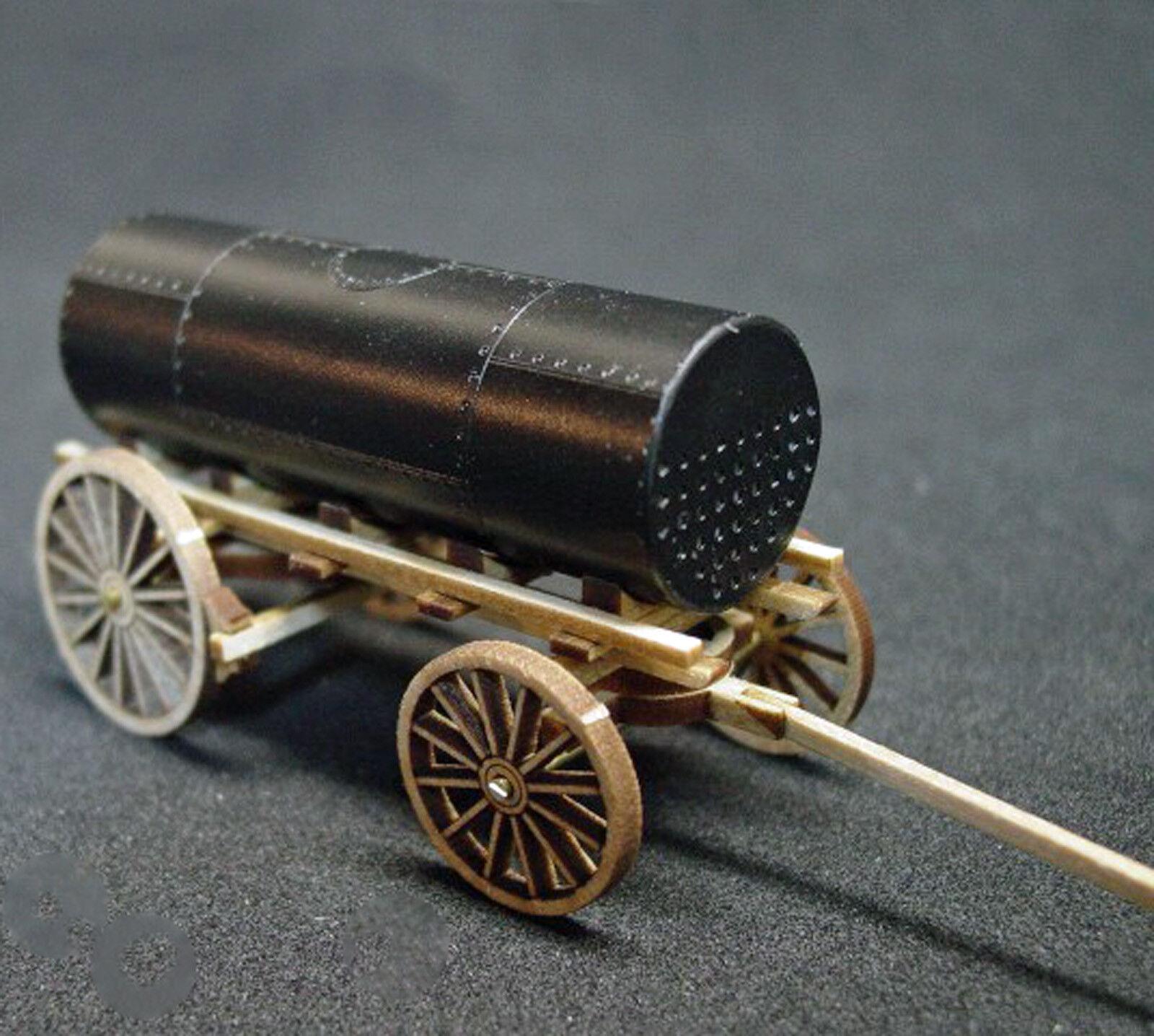 BOILER WAGON O On30 Scale Model Railroad Unptd Wood Laser Kit GMBRO