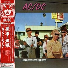 AC/DC - Dirty Deeds Done Dirt Cheap [New CD] Mini LP Sleeve, Japan - Import