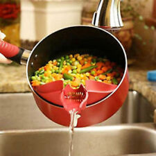 Silicone Cooking Tool Soup Funnel Kitchen Gadget Tools Water Deflector