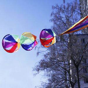 62-034-Rainbow-Wind-Spinner-Windsock-Kite-Tail-Colorful-for-Garden-Yard-Outdoor-Kid