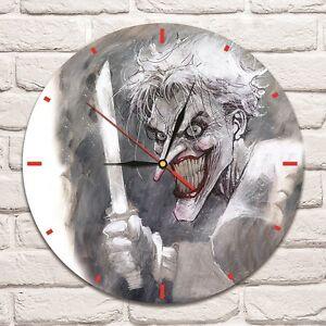 joker with knife design vinyl record wall clock home art shop office rh ebay co uk home art shop brisbane home art gift shop