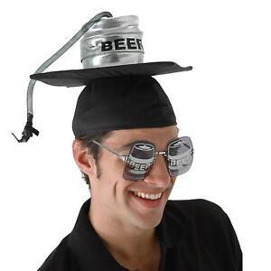Image is loading Beer-Keg-Graduation-Cap-Great-Novelty-Party-Hat-  sc 1 st  eBay & Beer Keg Graduation Cap Great Novelty Party Hat OR 4 Halloween ...
