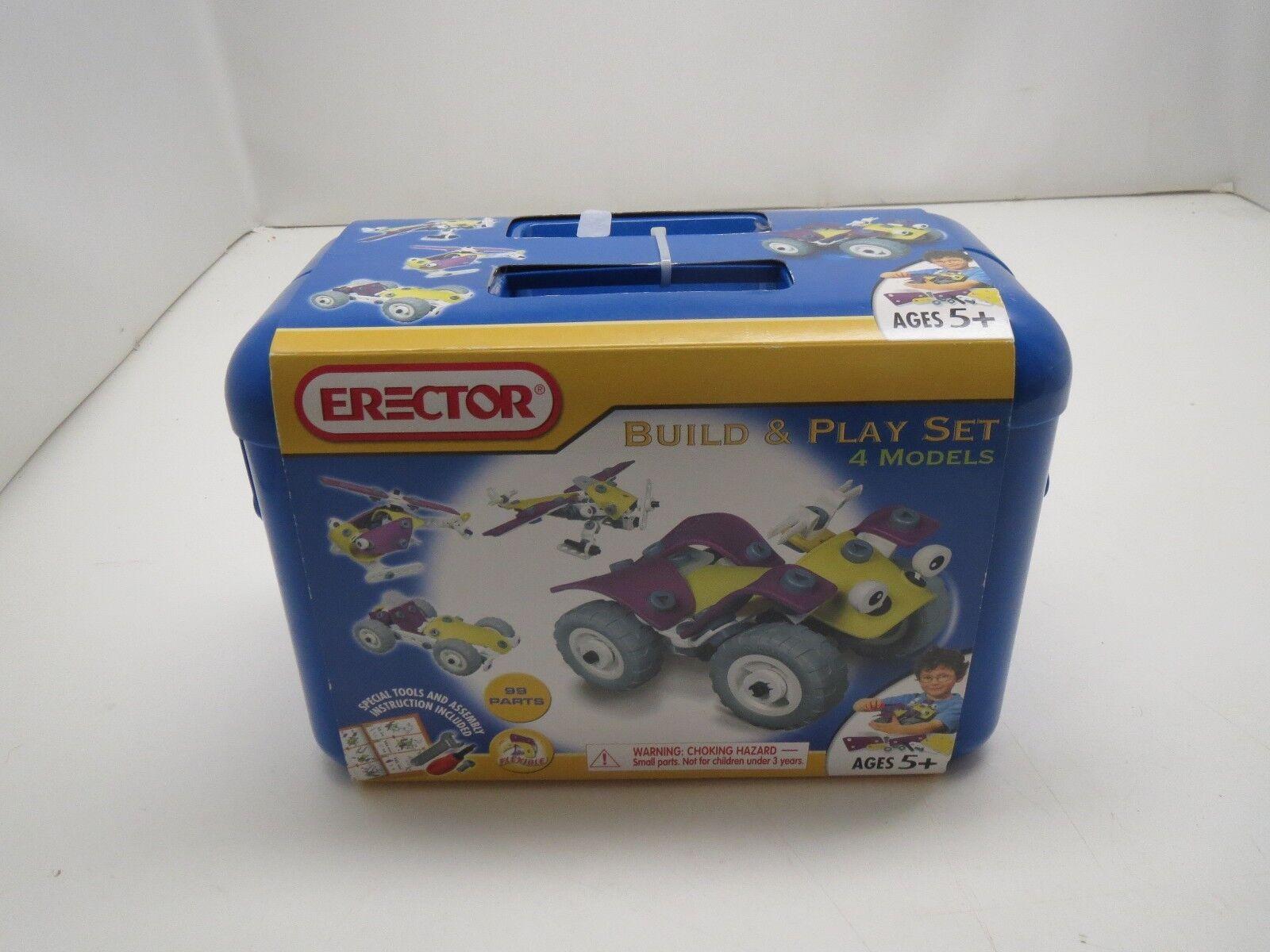 2008 Meccano Maker System 730107e Erector Build And Play Set 4 Models