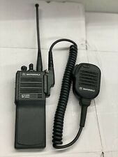 Motorola Mts2000 800mhz 16 Ch H01ucd6pw1bn Two Way Fm Radio Antennamic Included