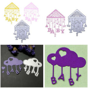 BABY-Bed-Bell-Metal-Cutting-Dies-Stencil-For-DIY-Scrapbooking-Paper-Card-Craft
