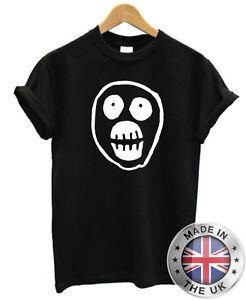 Mighty-Boosh-Skull-T-Shirt-S-XXL-Mens-Womens