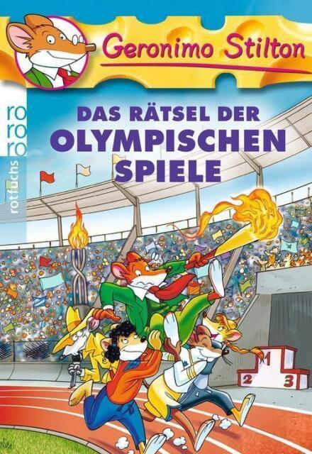 Das Rätsel der Olympischen Spiele von Geronimo Stilton (2012, Taschenbuch)