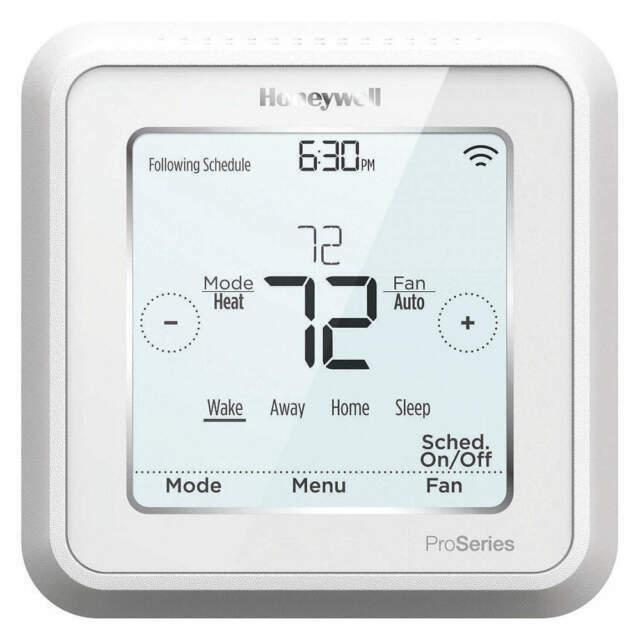 Honeywell TH6320WF2003/U Lyric T6 Thermostat, 3 Heat / 2 Coo