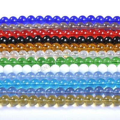 FREE SHIP 4MM 6MM 8MM 10MM 12MM Top Quality Czech Glass Round Spacer Loose Beads