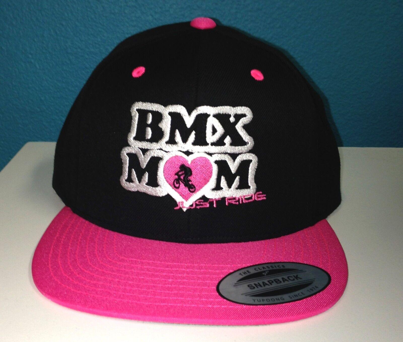 BMX Mama Mum Hut Kappe Flache Bill Snapback Nur Ride Fahrrad Rennen