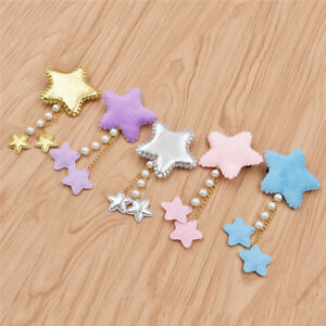 Sweet-Lolita-Girl-Star-Pearl-Hair-Clip-Hairpins-Hair-Accessories-Cosplay-Gifts
