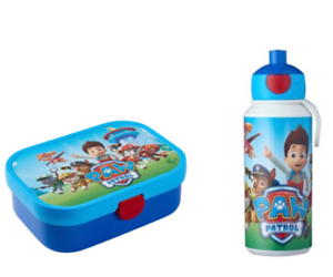 MEPAL-Pausenset-Campus-Kinder-Pop-up-Trinkflasche-Brotdose-Motiv-Paw-Patrol