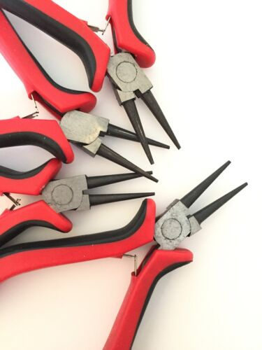 Einstiegswerkzeug Zangen Schmuckherstellung Rundzange schwarz 4054