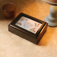Music Box - Forever & Eternal 3x5 Picture Frame Jewelry Box - Velvet Lined on sale