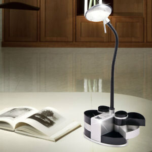 Bureau-Comptoir-Lumiere-Flexo-Lampe-Compartiment-Stylo-Eclairage