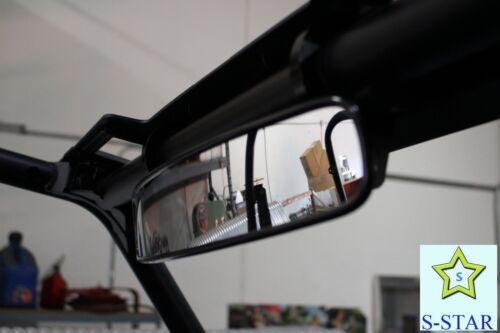 "Polaris RZR UTV 13 x 2.75 inch Rear View Race Mirror with 1.75/"" Clamp"