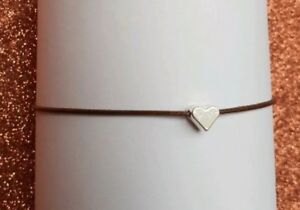 Brown-Cord-Bracelet-Polyester-With-Love-Heart-Pendant