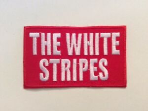 M333 Patch Patch Aufnaher Toppa //New// the White Stripes 8 4,5 CM