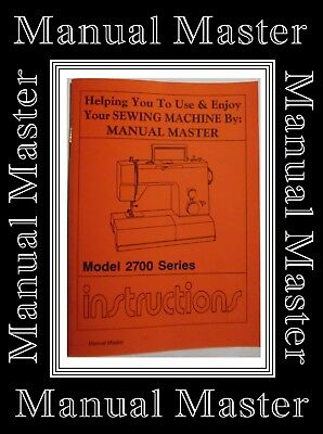 TOYOTA 7200 Free Arm ZigZag Sewing Machine Instruction Manual Booklet