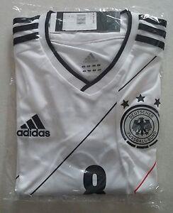 Deutschland-Trikot-DFB-Adidas-EM-2012-Groesse-M-Nr-8-Ozil-Neu-amp-original-selten