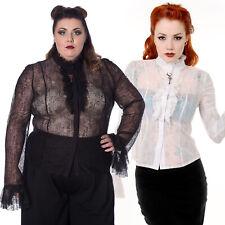 Mittelalter Carmen Vintage Bluse Elina Gothic Larp Maid Lady Pirate caribbean
